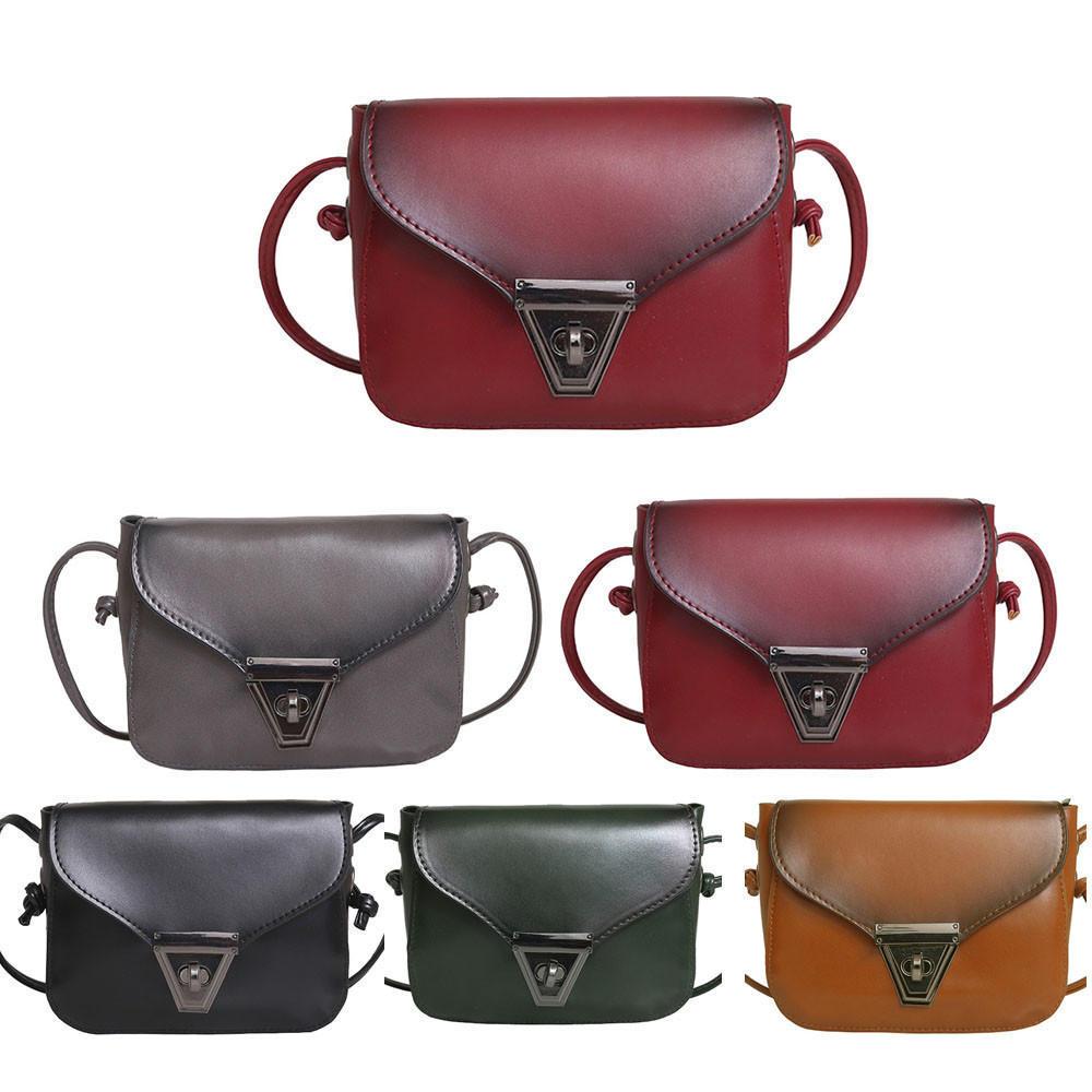 Женские сумки Наплечные сумки кошелек кошелек портмоне кожа Messenger сумка Браун женские сумки