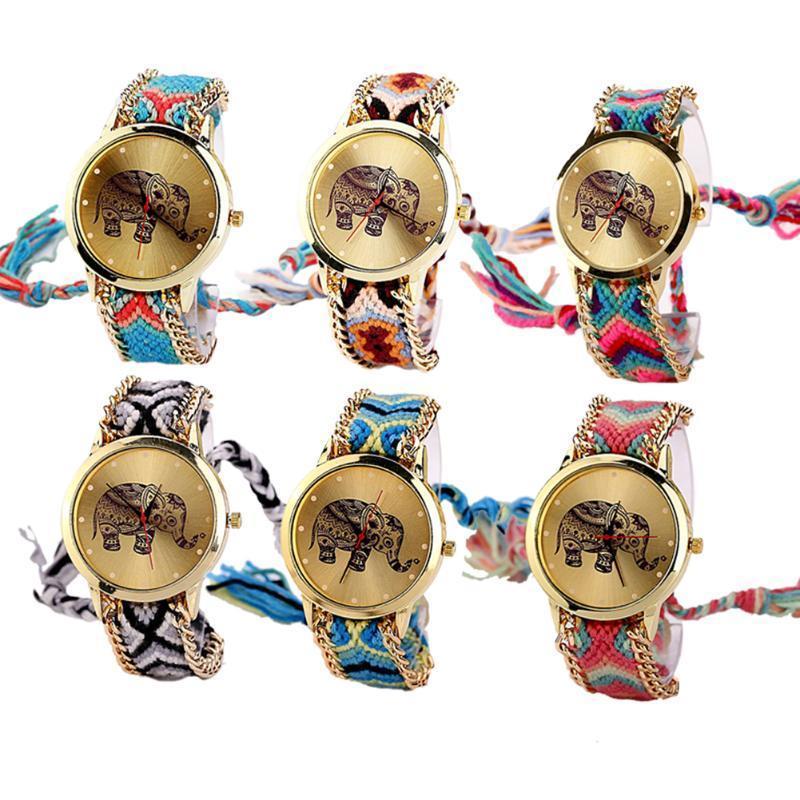 Мода женщин Женева часы наручные золотые часы дамы кварцевые часы