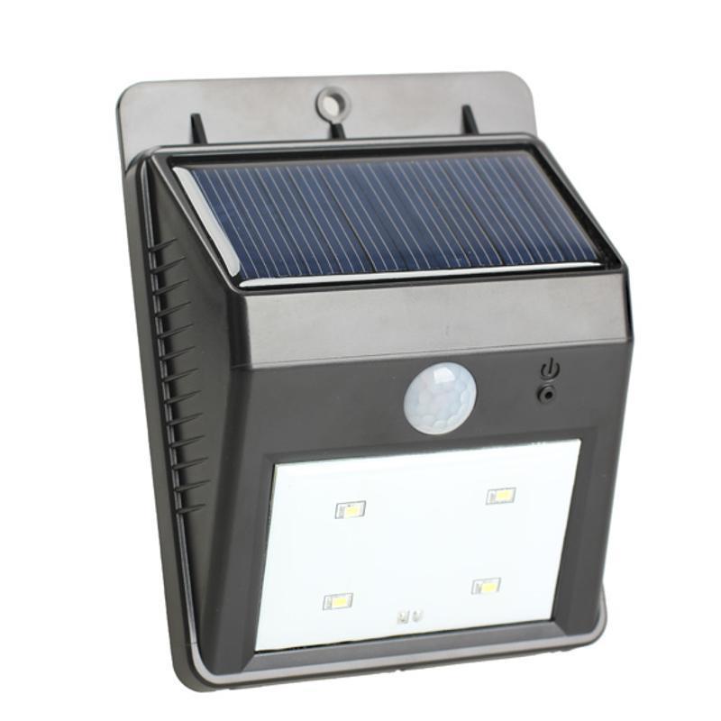 Солнечной 4LED пир движения датчик света индукционная лампа водонепроницаемый открытый сад налобный фонарь sunree l40 ipx8 4led