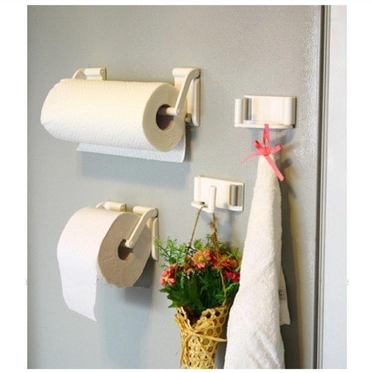 Многофункциональные магнитные присоски бумажных полотенец стойку ванной рулон ткани держатель бум... держатель для бумажных полотенец zeller 27242