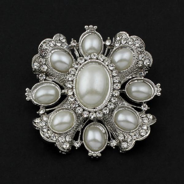 Женщин старинные Распродажа ювелирных изделий поставок Перл ювелирные изделия Броши Цветок