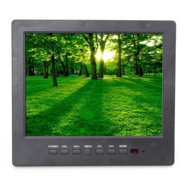 L8009 Портативный 3-в-1 8 «TFT ДИАГОНАЛЬЮ, AV, VGA ввода монитор CCTV аксессуар bosch tcz 8009 n 00576165