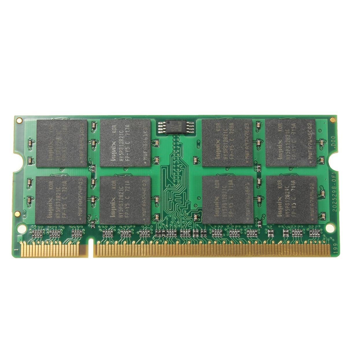 1GB DDR2 800 МГц PC2-6400 не ECC ноутбук ноутбук PC DIMM памяти ОЗУ 200 булавки for 2gb 1x2gb pc2 6400 ddr2 800 450260 b21 460424 001 with 1 year warranty