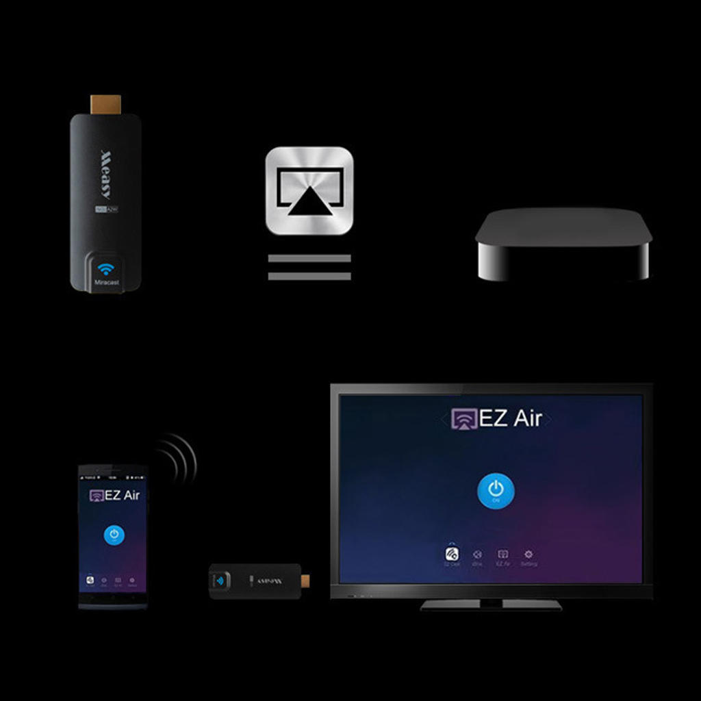 MEASY A2W WIFI HDMI ТВ Dongle Stick 1080P H.264 FHD беспроводной дисплей проигрывателя Chromecast... measy a2w 4k miracast tv airplay wifi display dongle dual band 2 4ghz 5ghz wifi dlan airplay ezcast hdmi tv stick receiver