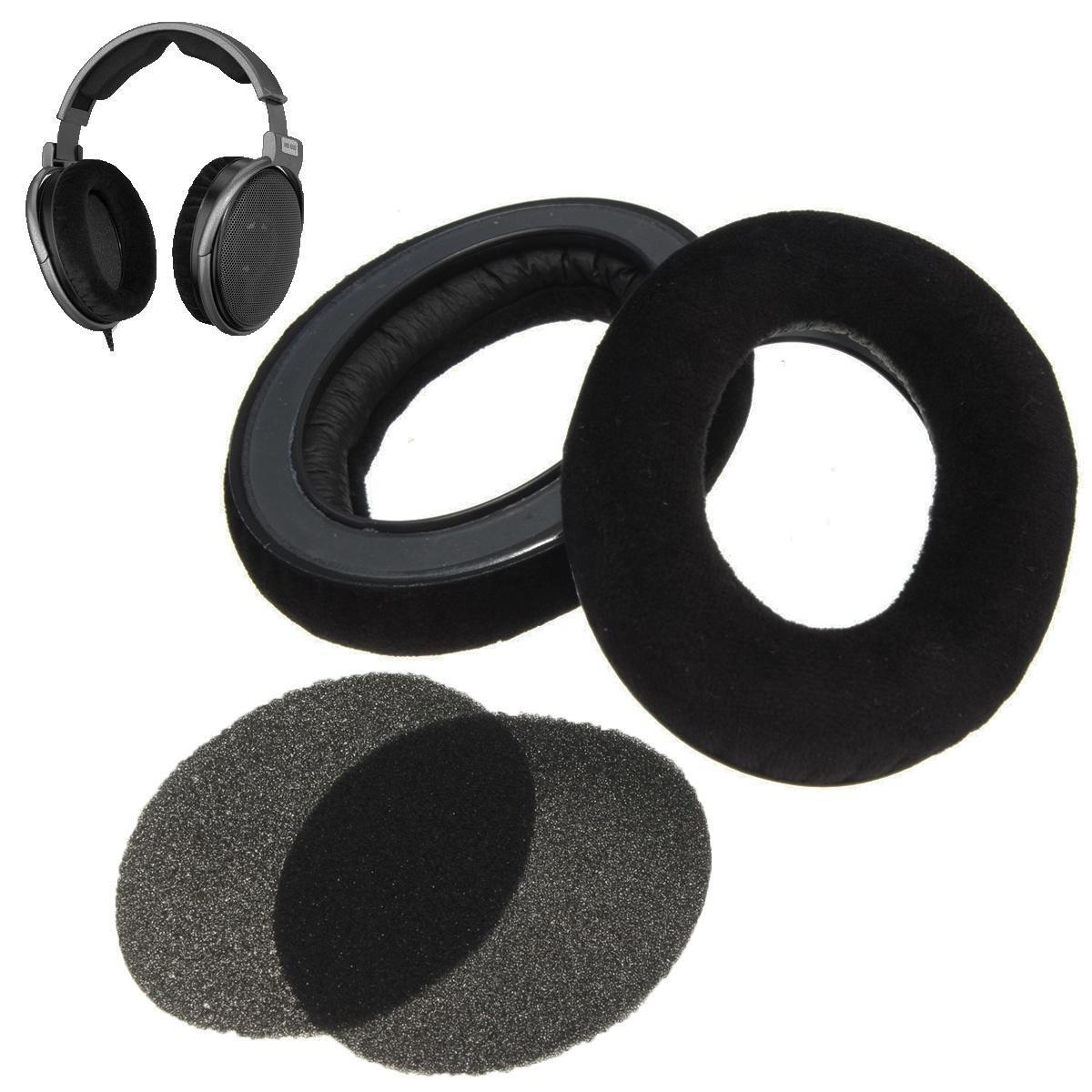 Замена амбушюры с чашки уха для Sennheiser HD545 HD565 HD580 HD600 HD650 наушников кабель publicity hd580 hd600 hd650