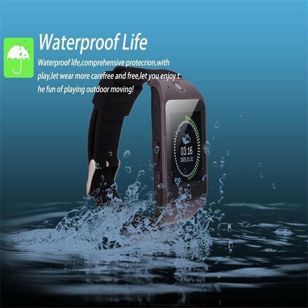 цена на LG118 водонепроницаемая Bluetooth Smart Телефон часы для Android IOS Samsung HTC iPhone