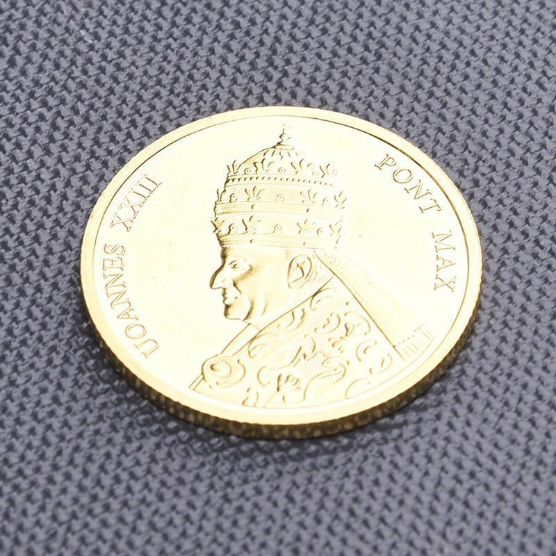 Новый магазин Скидка! Ватикана Папского государства золотые памятные монеты 5pcs оптом скидка