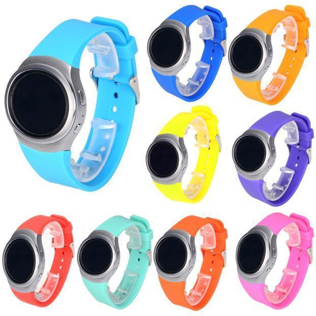 цена на Замена силиконовые часы группа ремешок для Samsung Galaxy S2 Gear SM-R720