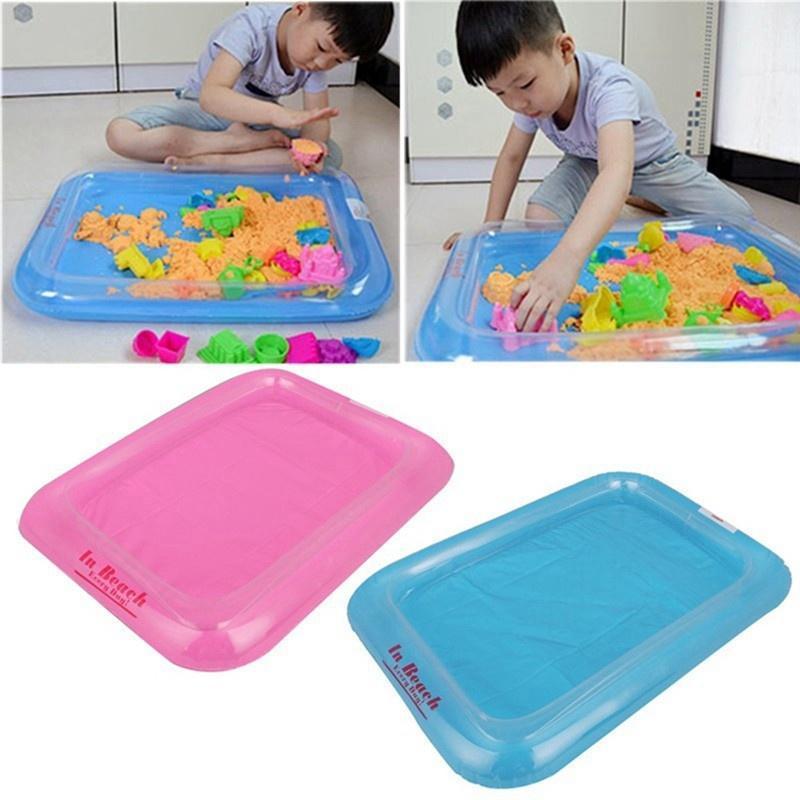 Надувные песочнице набор Kit песок Begin малышей Baby способность Playdough полимерной глины H набор крем uriage baby travel kit набор
