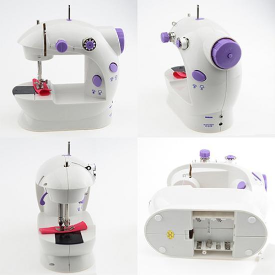 Полезные многофункциональная электрическая мини швейная машина Обои LED портативный швейных швейная машина vlk napoli 2400
