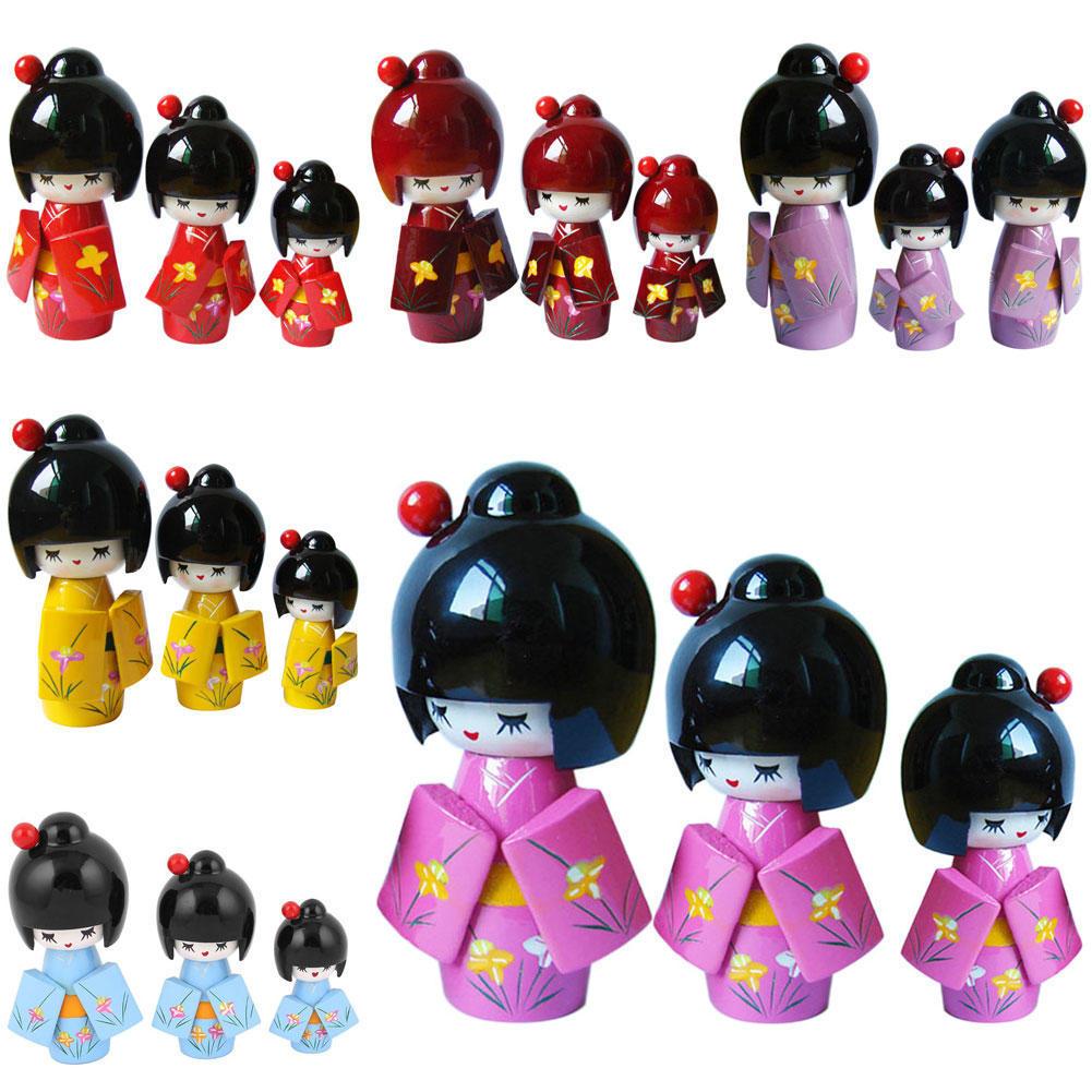 Японские кимоно кукла Кукольный кукла украшения оформленных трехсекционный кукла ремесла кукла монстер хай дракулаура через интернет