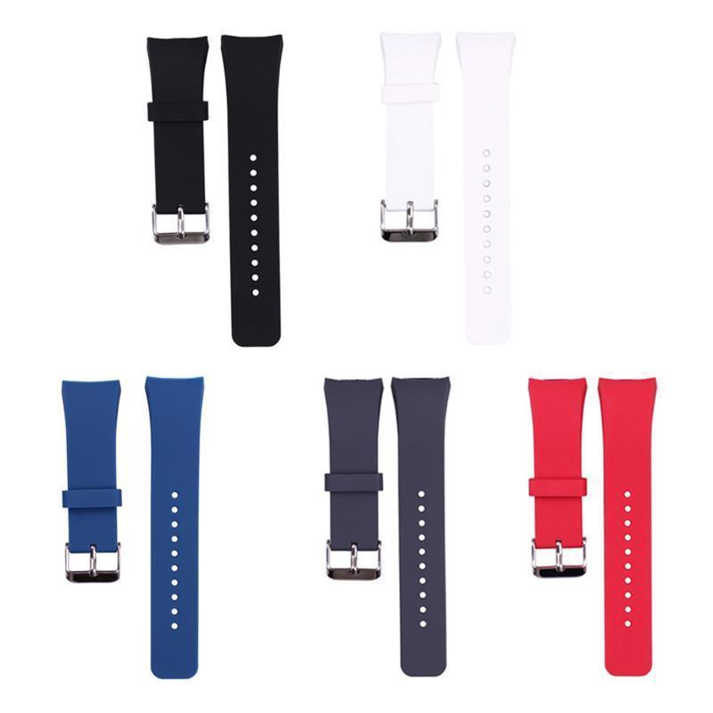 цена на Роскошь силиконовые часы группа ремешок для Samsung Galaxy S2 Gear SM-R720