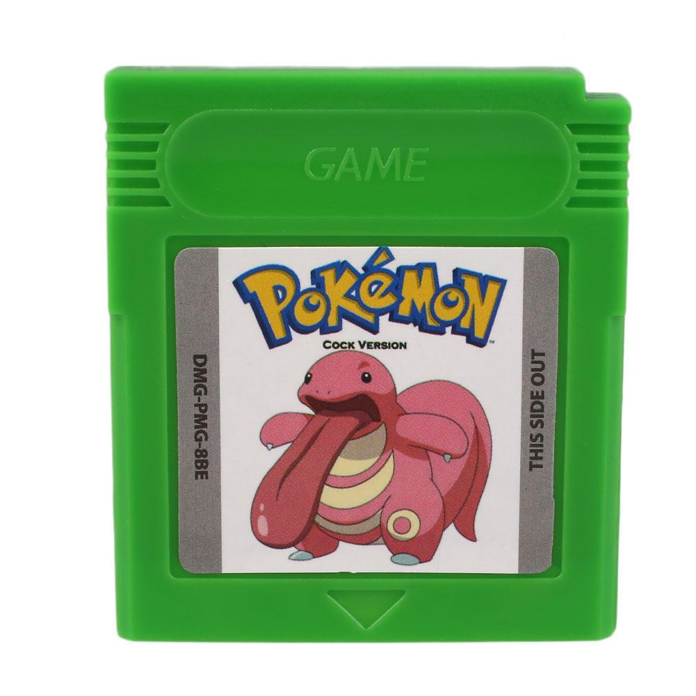 Pokemon GBC петух версии карточная игра Game Boy Advance ГБ GBC GBA SP игры консоли ламинатор gbc fusion 3100l