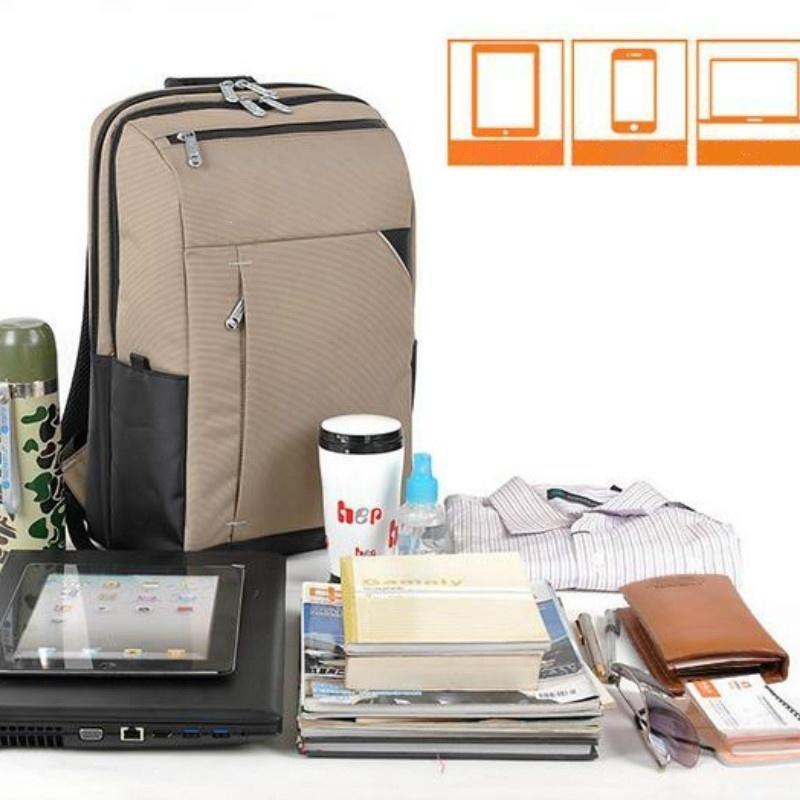 Водонепроницаемый ноутбук рюкзак 15.6 компьютер сумка для отдыха рюкзак школьная сумка для Macbook