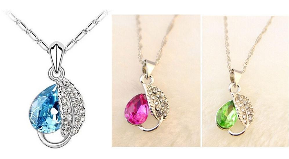 Кристалл ожерелье ювелирные изделия ключицы цепи кулон ювелирные изделия