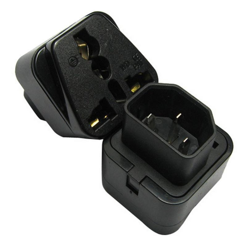 IEC 320 PDU UPS C14 вилка для универсального Штекерное гнездо питания адаптер конвертер блок распределения питания pdu ibm express 0u 24 c13 32a pdu 90y4584 90y4584