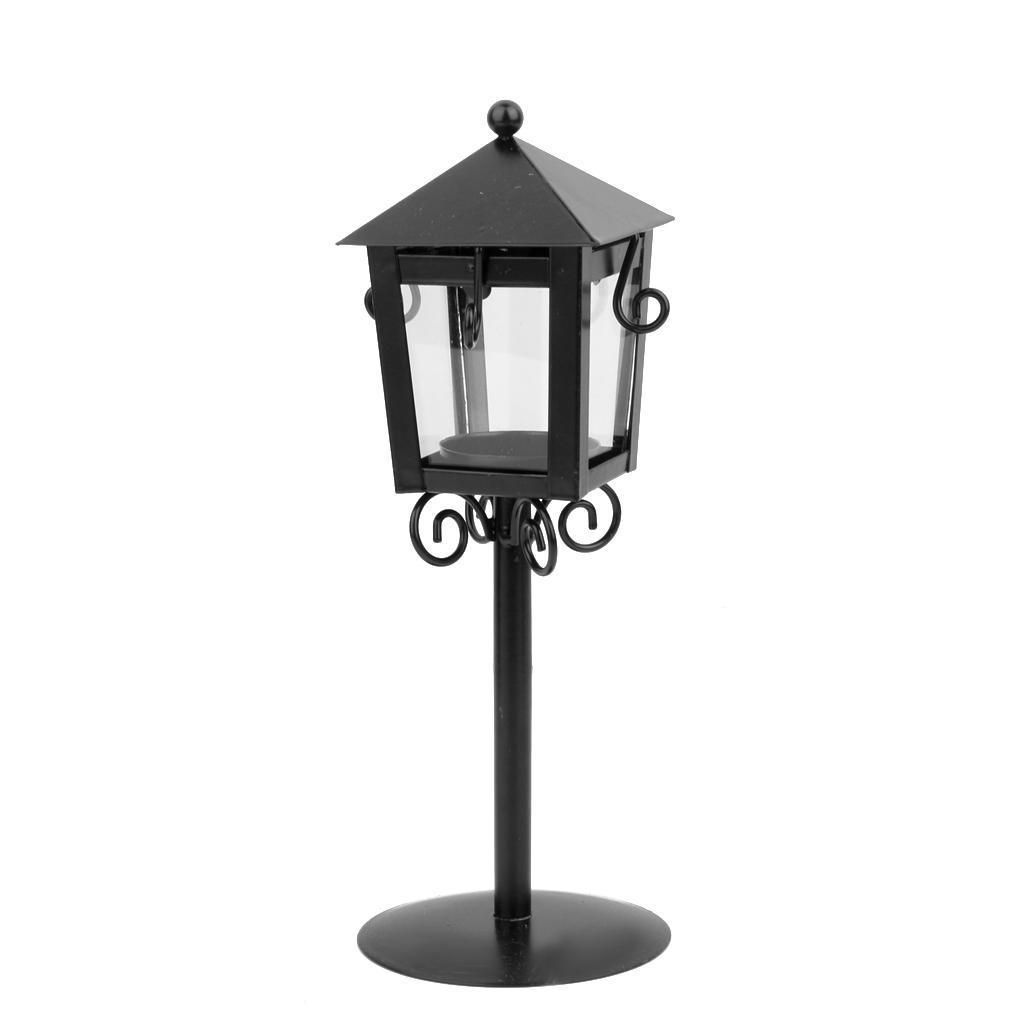 Старинные улицы лампа дизайн свечи чай свет свечи держатель - черный свет для улицы jy82072c laitcom