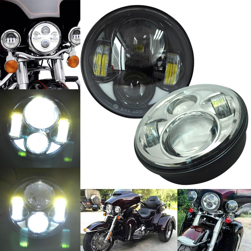 534 Round Sealed Beam to LED Headlight Conversion