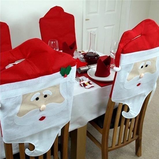 Моды Mr/Mrs Санта Клаус кухня стул крышку Рождество Xmas партии домашний декор mrs dalloway