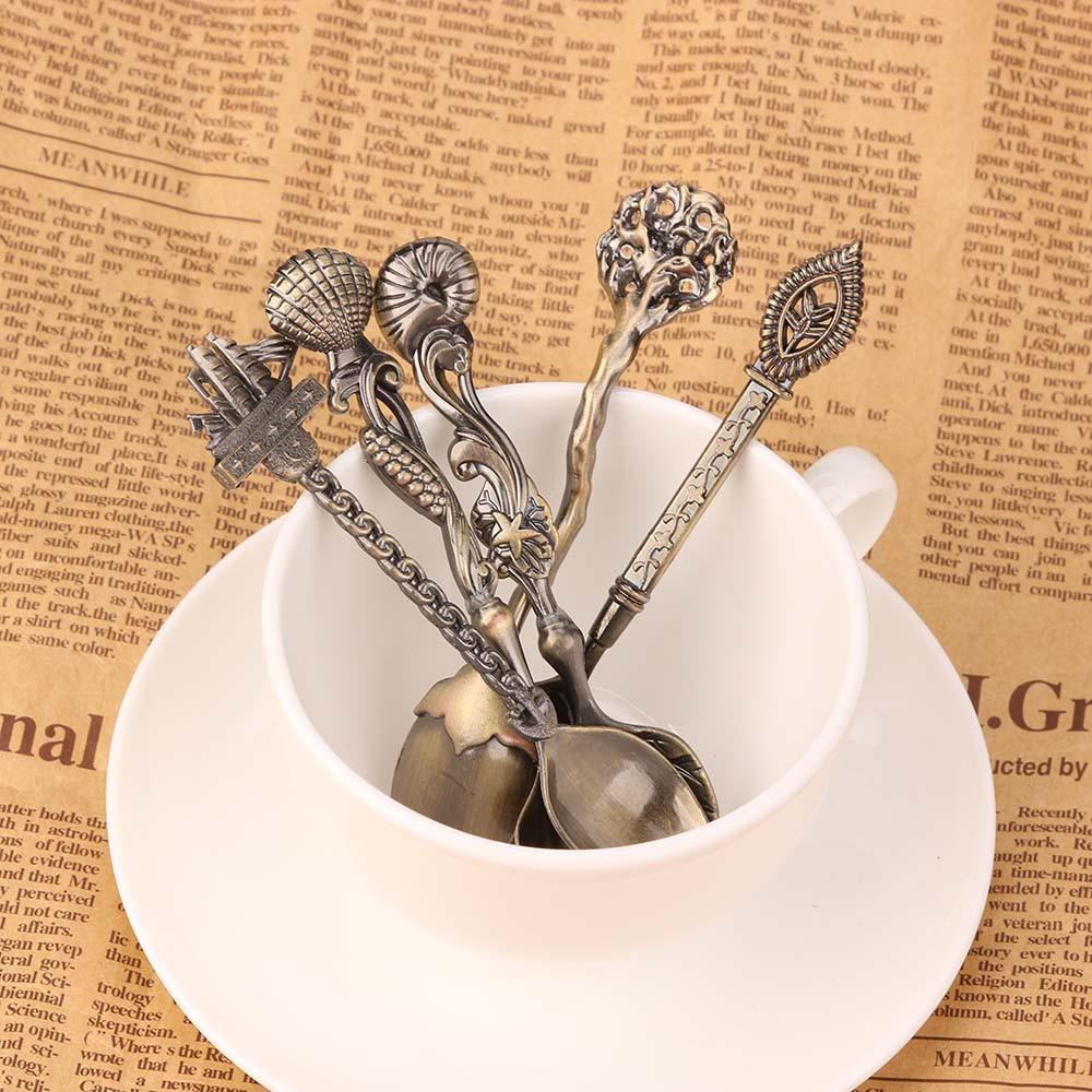 5 шт океан стиль кофе сахар чай десерт ложки вилки кухонная посуда посуда кухонная