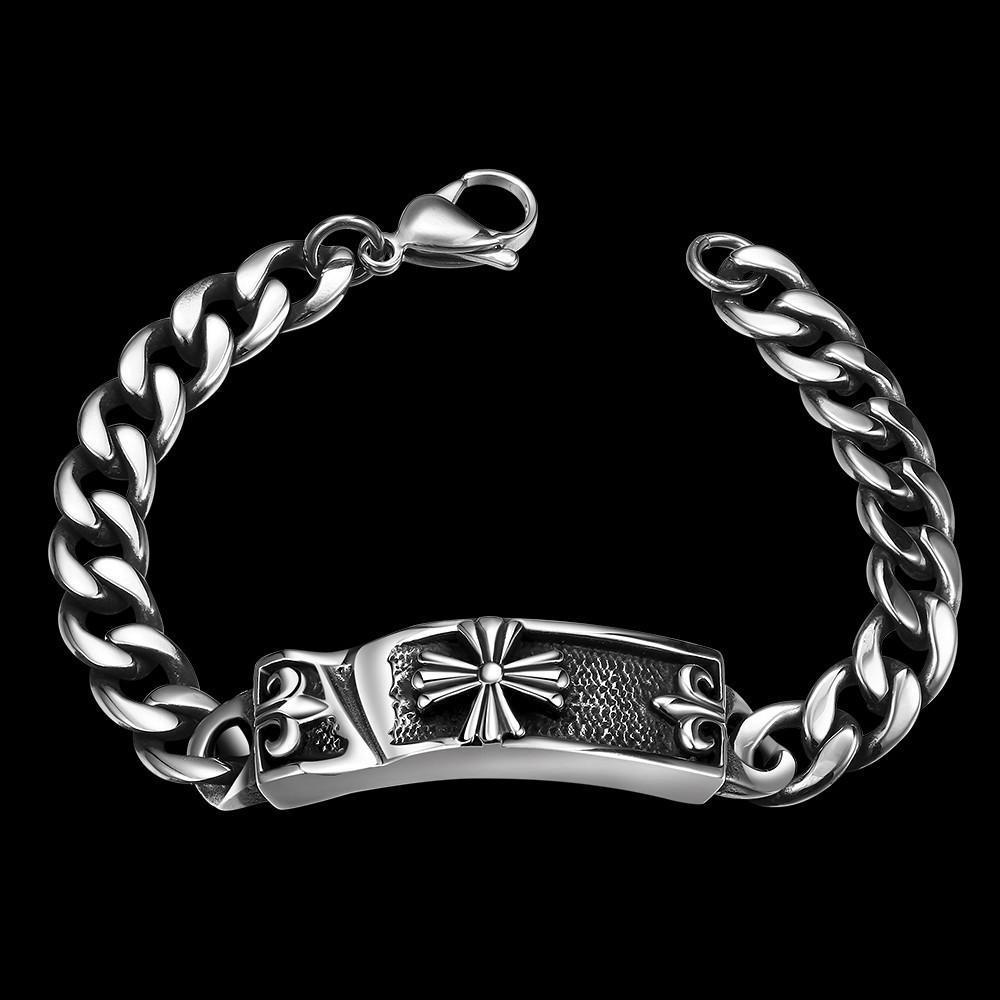 Новые модные серебряные позолоченные человек Браслеты голограмма Браслеты AMP Браслеты никогда не...