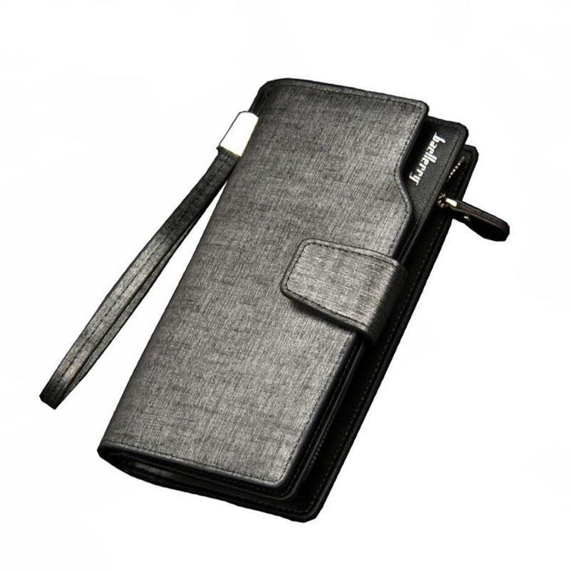 PU кожаный бумажник мужчин долго кошелек кошельки мужские сумки сцепления высокого качества удобн... мужские сумки