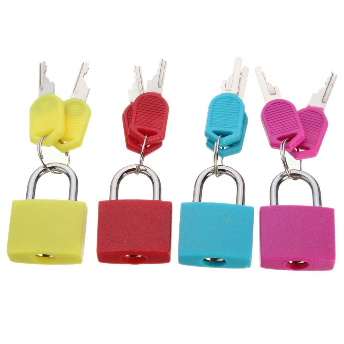 20 мм Латунь чемодан багажа ноутбук сумка замок замок с двумя ключами