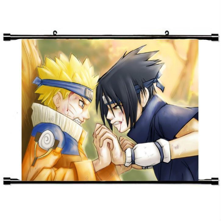 Домашний декор аниме Naruto прокрутки живопись, Декор стен декор для стен