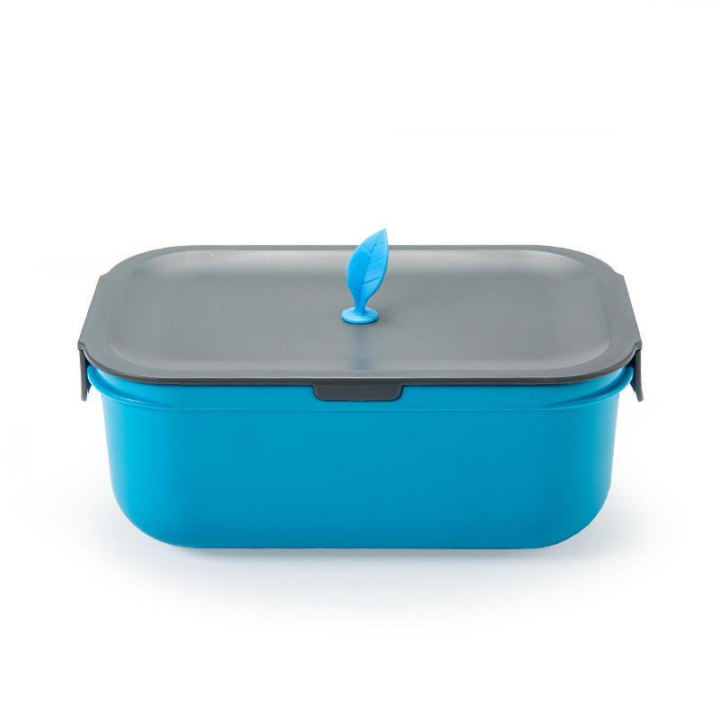 Четче LunchBox передвижные перегородки открытый Портативная Микроволновая пластиковой коробке изо...