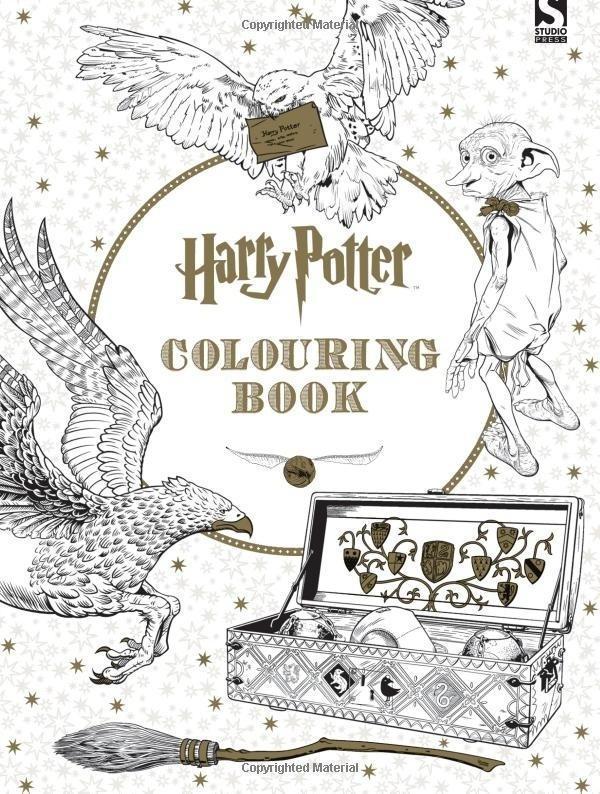 Горячие Продажа 24 страницы Гарри Поттер-Гарри Поттер раскраски книга раскраски художественной бу...