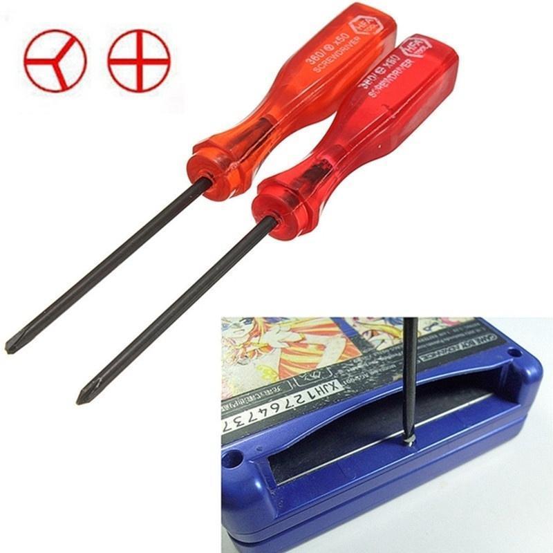 Tri-крыло amp; Крест крыла отвертки ремонт инструмента для Nintendo NDS DS Lite NDSL F replacement touch screen for nds nintendo ds
