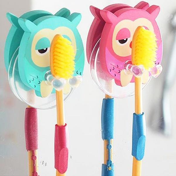 Творческие сова зубная паста зубная щетка держатель крюка зубная паста white glo дневная ночной гель зубная щетка цвет голубой