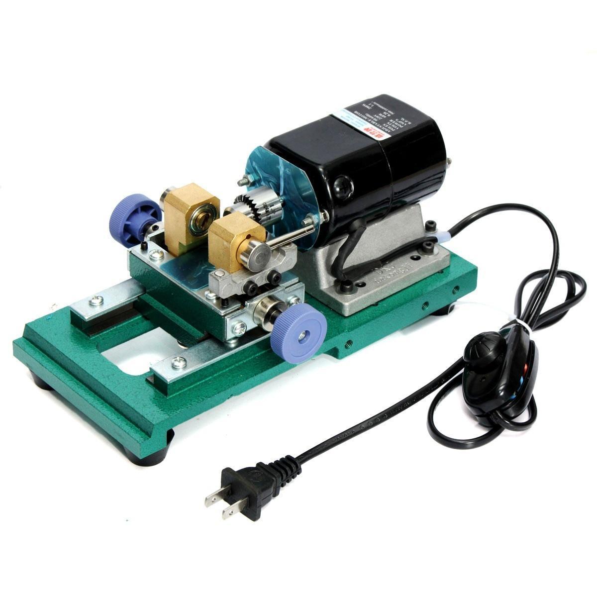 220V бесступенчатое Перл 280W бурения разбуривание сверлильные станки полный набор ювелирных б у 1д601 малогабаритные настольные токарные станки