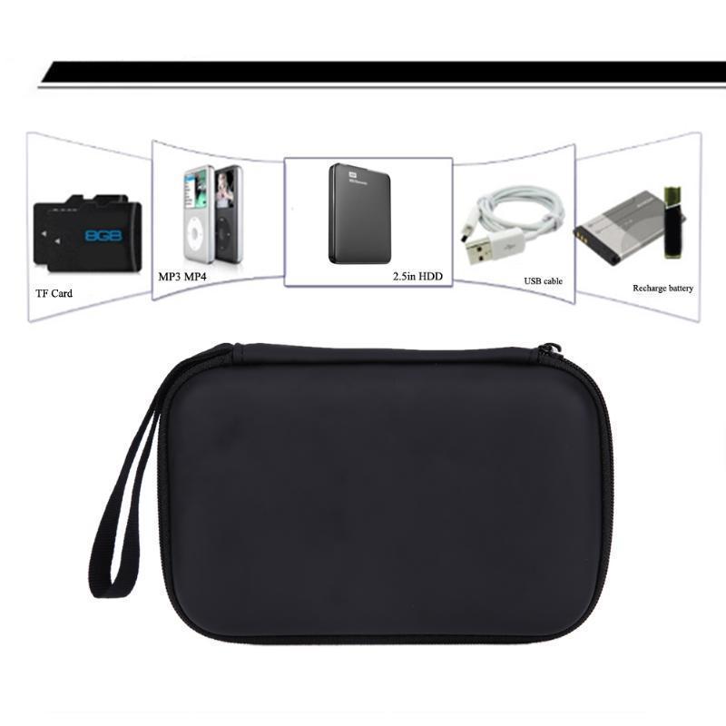 Жесткий Ева пу переноски чехол-сумка для 2,5-дюймовый внешний жесткий диск внешний жесткий диск lacie stet2000400 porsche design 2tb серебристый stet2000400