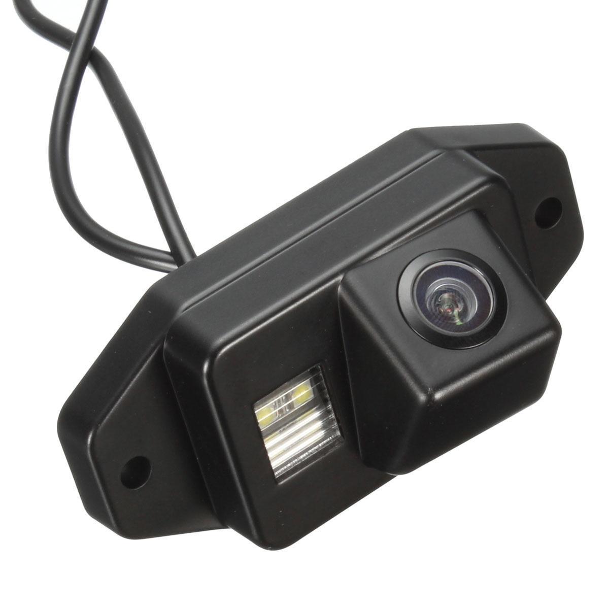 Вид сзади черный резервное копирование обратный камеры, парковка камеры для Тойота Прадо Ленд Кру...