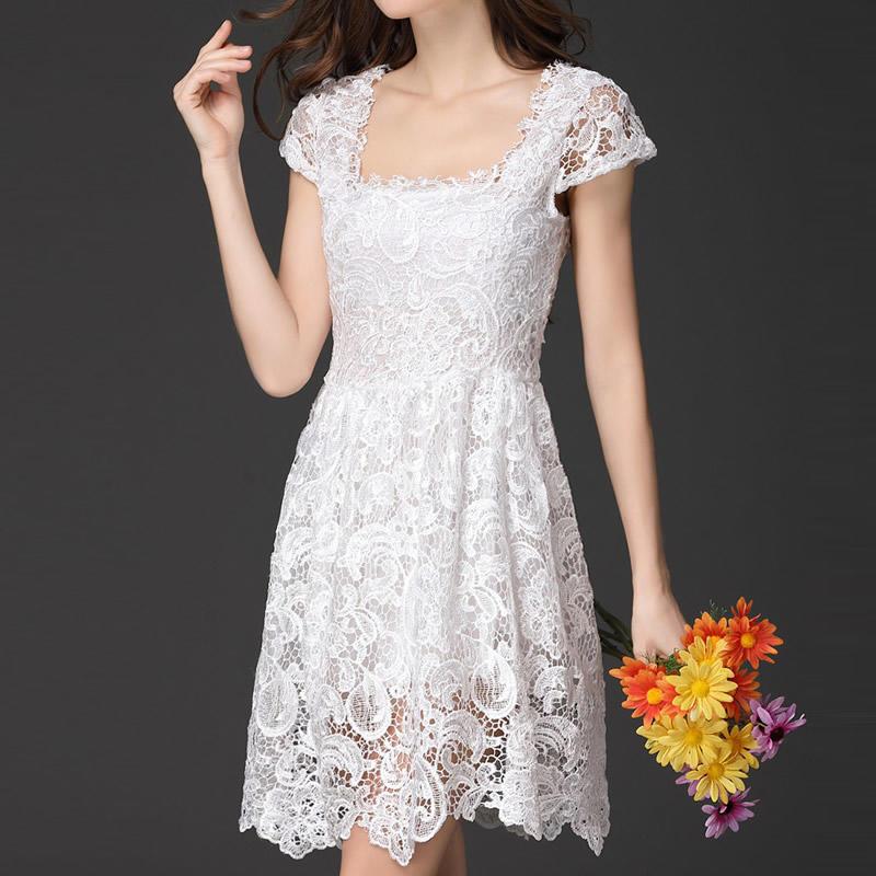 Женщины летом кружева платье принцессы платье досуг платье платье платье