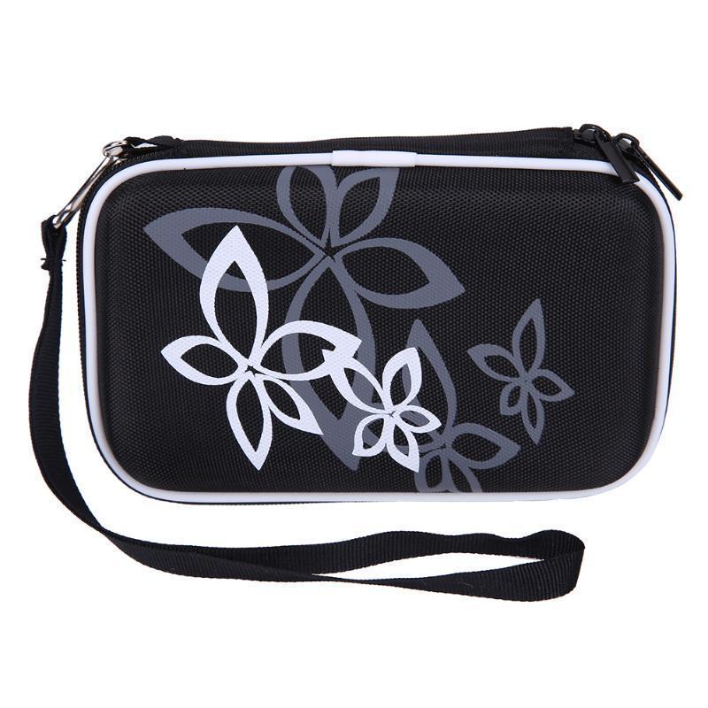 Жесткий чехол переноски чехол сумка для 2,5-дюймовый портативный внешний жесткий диск внешний жесткий диск lacie stet2000400 porsche design 2tb серебристый stet2000400