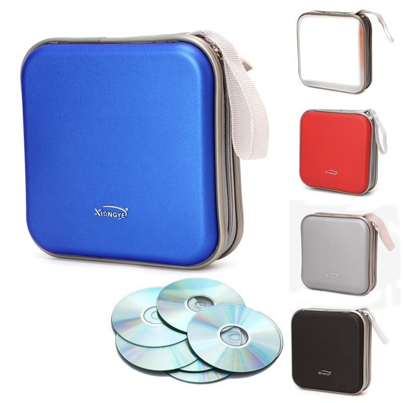 40 диска DVD VCD случае CD Box хранения Организатор альбом видео СМИ держатель мешка новое солнце 40 cd