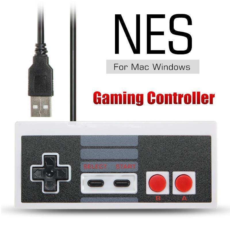 РЭШ USB Famicom классический игровой контроллер для Nes Windows PC Mac компьютер