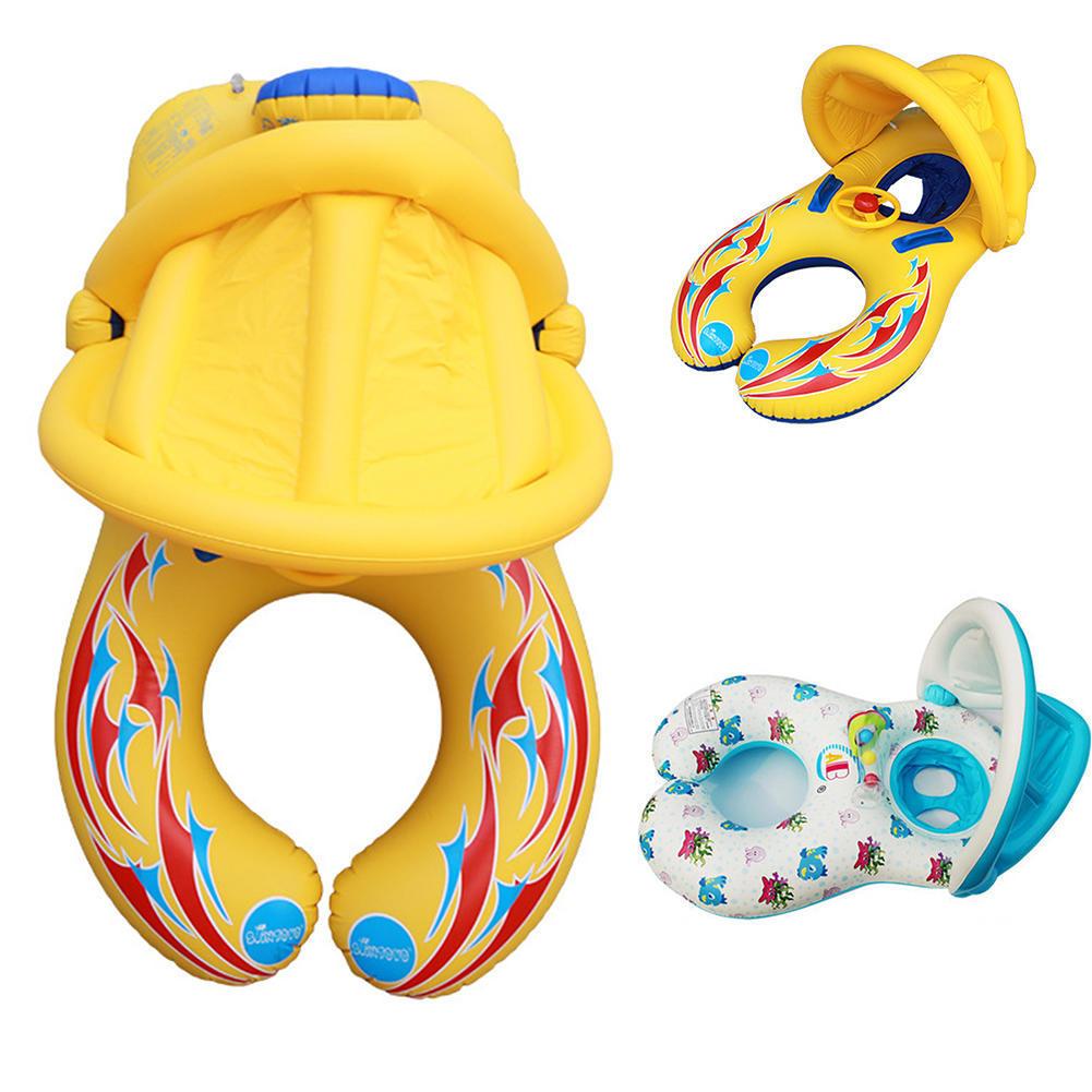 Детские надувные плавать плавать лодка плавательный кольцо тенты павильоны покрытия тенты для бассейна
