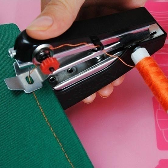 Портативный рукоделия беспроводные мини ручной одежды ткани, швейная машина швейная машина vlk napoli 2400