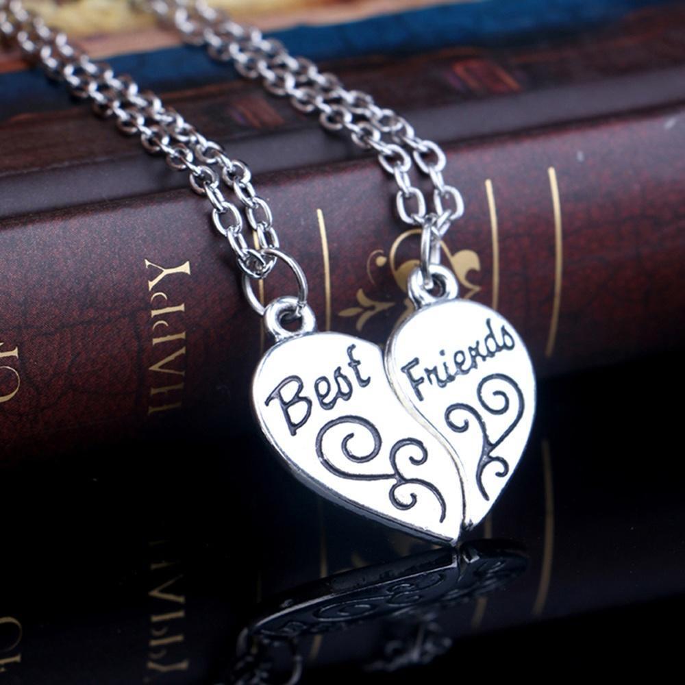 Женская мода ожерелье лучшие друзья кулон ювелирные ульева елена александровна лучшие друзья