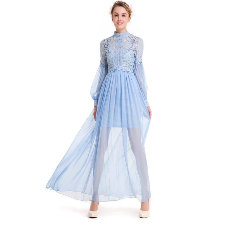 Женщины летнее платье платье длиной принцесса платье длинное платье платье