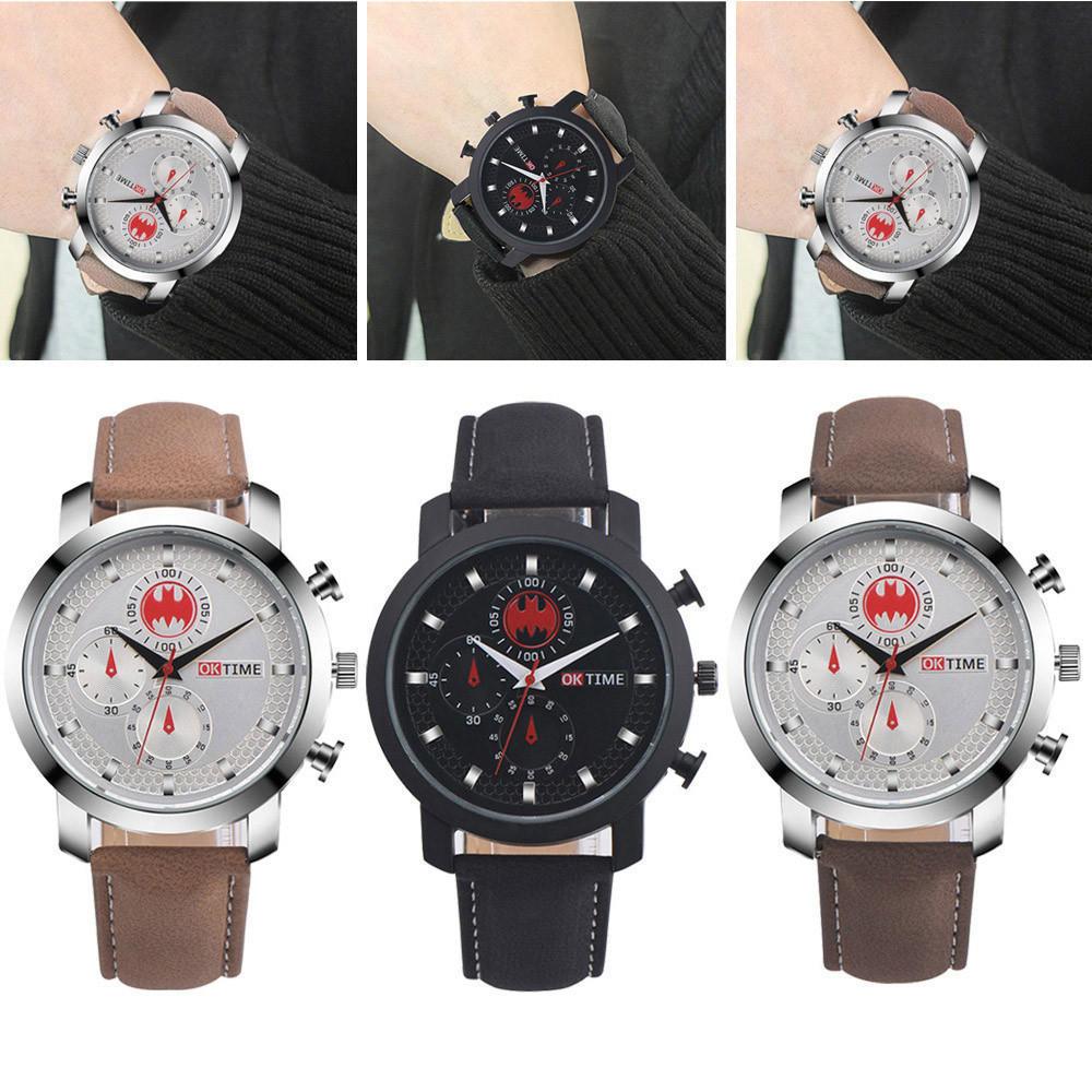 Новый мужской моде роскошные часы Имитация кварцевые спортивные часы