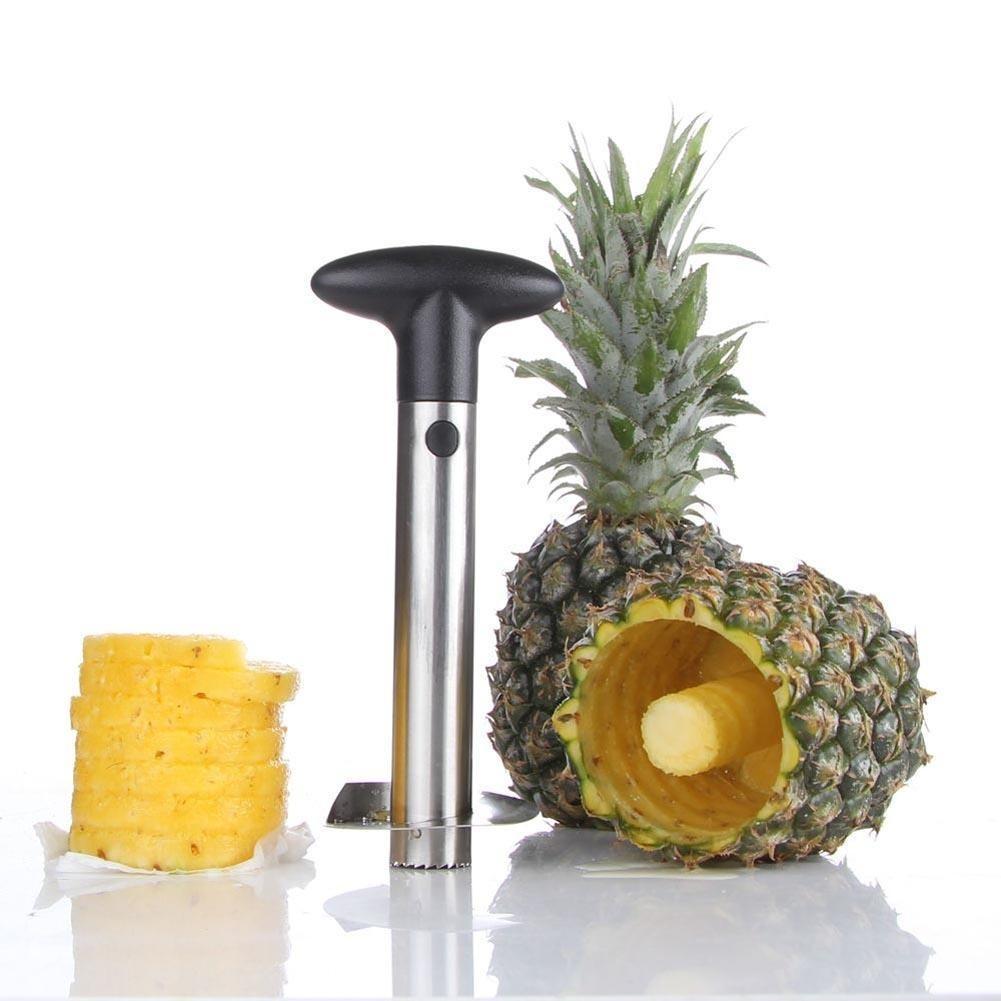 Кухня инструмент пластиковые фрукты ананас Овощечистка Бур Slicer резак Кухня легко ананас ломтер...