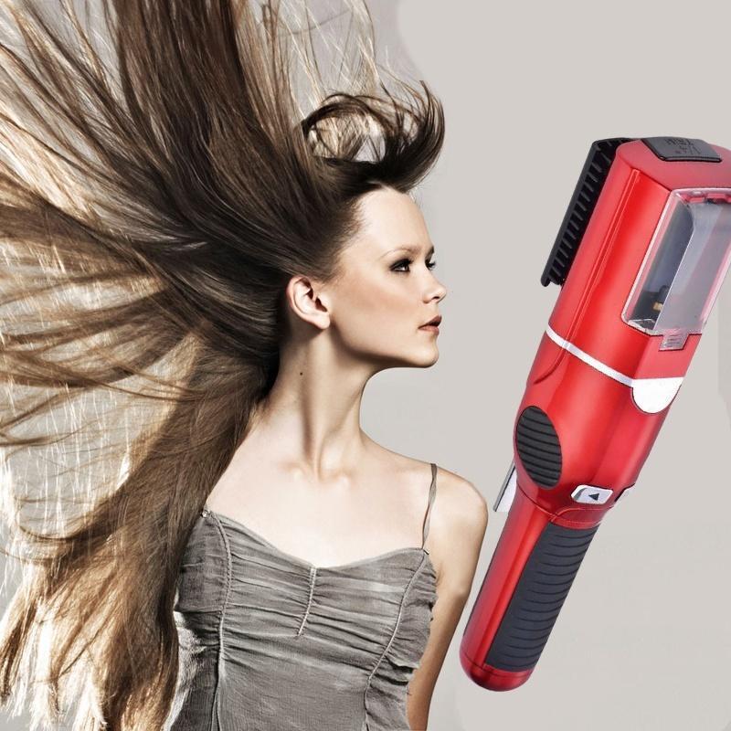 Беспроводной портативный автоматически ремонт волос стрижки волос машинка для стрижки волос