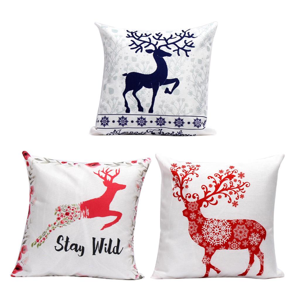 Рождественские подушку случае диван талии бросить подушки крышки скидка домашний декор скидка