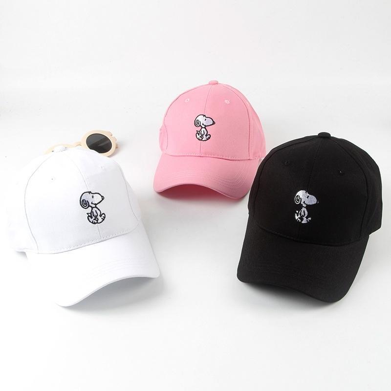 2016 печатных бейсболки унисекс Snoopy Спорт шляпа солнца для взрослых детей Аксессуары для путеш... аксессуары для детей