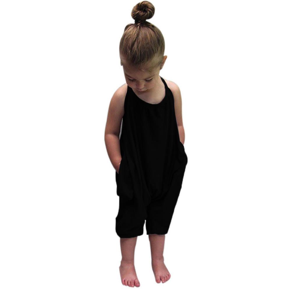 Малыш малыш Baby ремни Комбинезоны Комбинезоны кусок брюки для девочек новая одежда 2017