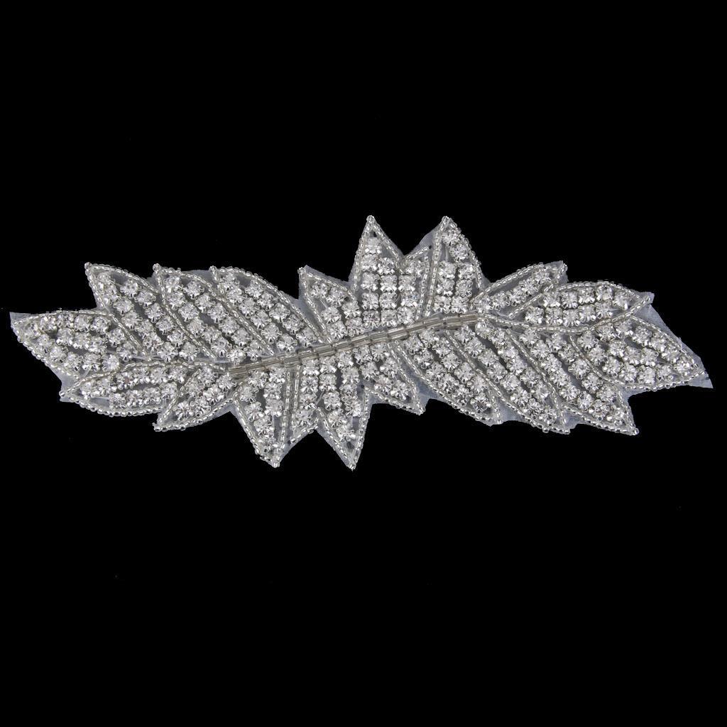 MagiDeal Diamante отделка Crystal бисером свадьбы аппликация мотив вышивка бисером молящийся христос